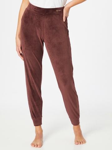 Emporio Armani Pyjamahose in Brown