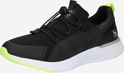 világoszöld / fekete HIS JEANS Belebújós cipők, Termék nézet