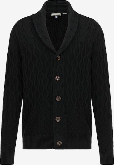 DreiMaster Vintage Strickjacke in schwarz, Produktansicht