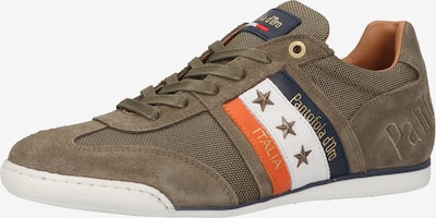 PANTOFOLA D'ORO Sneakers low in navy / olive / orange / white, Item view