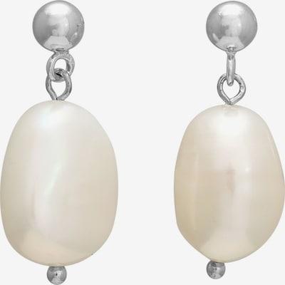 Nordahl Jewellery Ohrringe 'Baroque52' in silber / perlweiß, Produktansicht