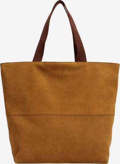 MANGO MAN Shopper in sand, Produktansicht