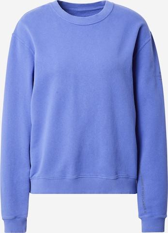 ECOALF Sweatshirt i blå