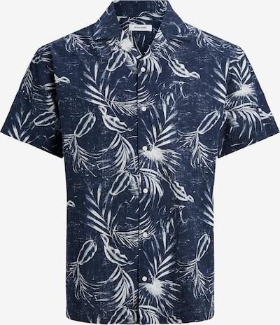 Marškiniai 'Mike' iš JACK & JONES, spalva – tamsiai mėlyna / balta, Prekių apžvalga