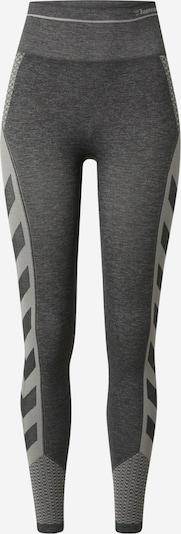 Hummel Sporthose 'Vera' en dunkelgrau / graumeliert, Vue avec produit