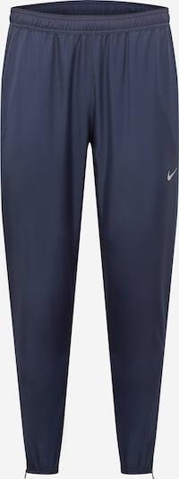 NIKE Sporthose 'Essential' in navy / weiß, Produktansicht