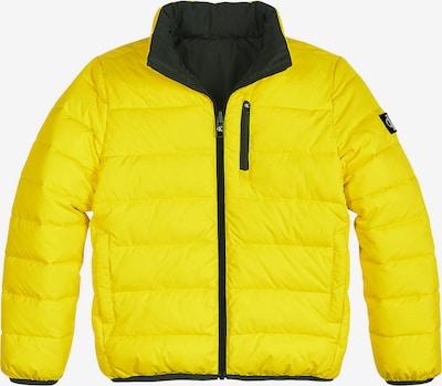 Calvin Klein Jeans Tussenjas in de kleur Geel / Grijs / Zwart, Productweergave