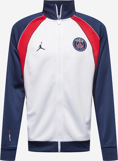 Jordan Veste de sport 'Paris Saint-Germain' en bleu marine / rouge / blanc, Vue avec produit