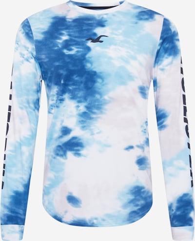 HOLLISTER Majica u kraljevsko plava / svijetloplava / bijela, Pregled proizvoda
