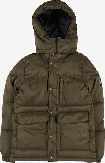 Jack & Jones Junior Winterjas in de kleur Donkergroen, Productweergave