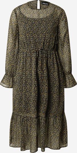 PIECES Jurk 'Misty' in de kleur Geel / Zwart, Productweergave