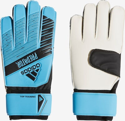 ADIDAS PERFORMANCE Handschuh in türkis / schwarz / weiß: Frontalansicht