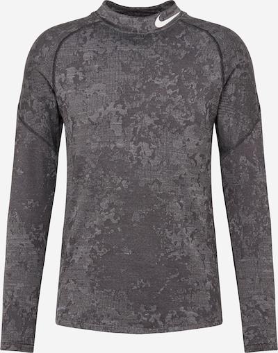 NIKE T-Shirt fonctionnel 'Utility' en gris clair / gris foncé, Vue avec produit