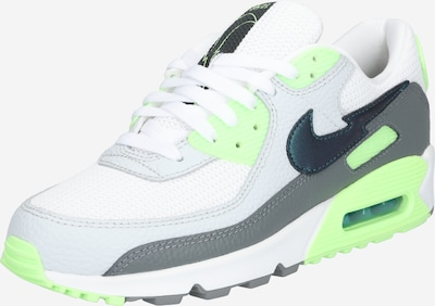 Nike Sportswear Baskets basses 'AIR MAX 90' en blanc, Vue avec produit