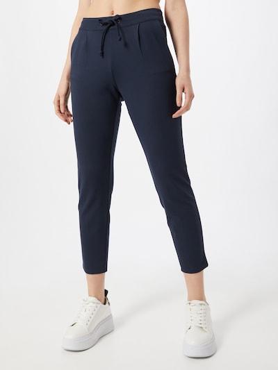 JACQUELINE de YONG Pantalon 'PRETTY' en bleu foncé, Vue avec modèle