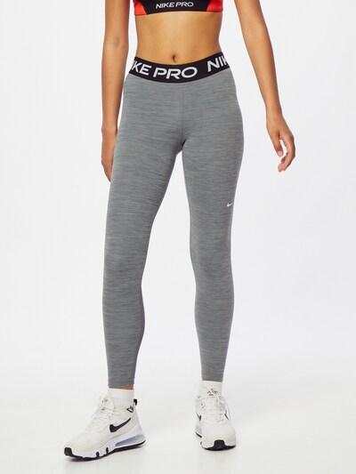NIKE Športne hlače   pegasto siva barva, Prikaz modela