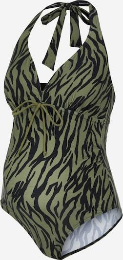 MAMALICIOUS Plavky 'Tenja' - olivová / černá, Produkt