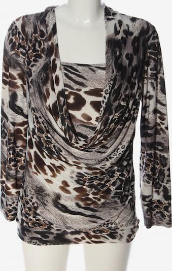 Bea Tricia Schlupf-Bluse in L in grün / schwarz / weiß, Produktansicht