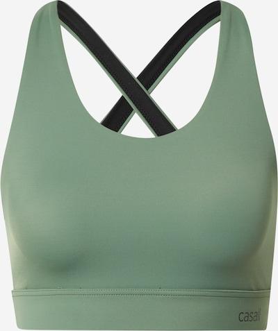 Casall Sport-BH in smaragd, Produktansicht