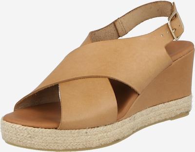 Sandale Billi Bi pe maro caramel, Vizualizare produs