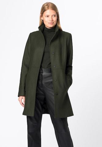 HALLHUBER Between-Seasons Coat in Green