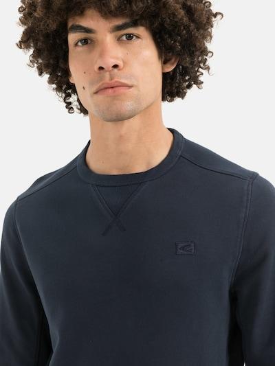 CAMEL ACTIVE Sweatshirt aus reiner Baumwolle in dunkelblau, Produktansicht