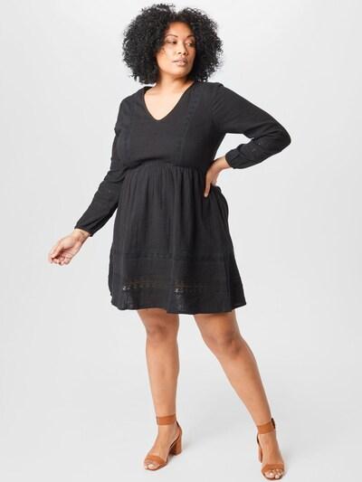 Rochie 'Valeria' ABOUT YOU Curvy pe negru, Vizualizare model