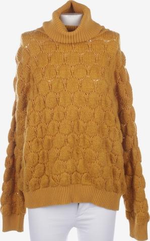 BOSS ORANGE Sweater & Cardigan in S in Yellow