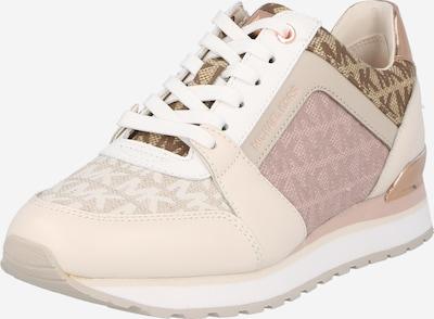 Sneaker low 'BILLIE' MICHAEL Michael Kors pe bej / maro / roz pal, Vizualizare produs