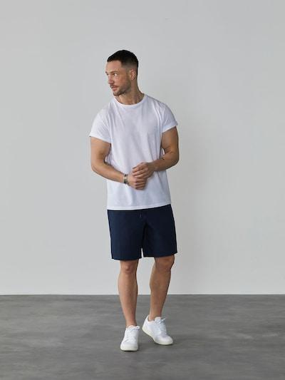 DAN FOX APPAREL Shorts de bain 'Adam' en bleu marine: Vue de face