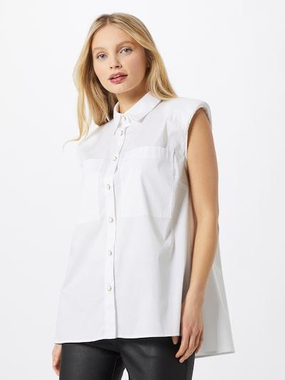 IMPERIAL Bluse in weiß, Modelansicht