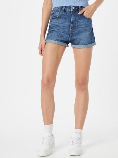 Tally Weijl Jeans i blå denim, På modell