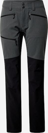 Laisvalaikio kelnės 'Rugged Flex' iš Haglöfs , spalva - pilka / juoda, Prekių apžvalga