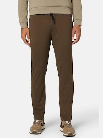 Pantalon Boggi Milano en marron