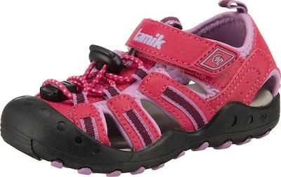 Kamik Sandale 'CRAB' in pink / schwarz, Produktansicht