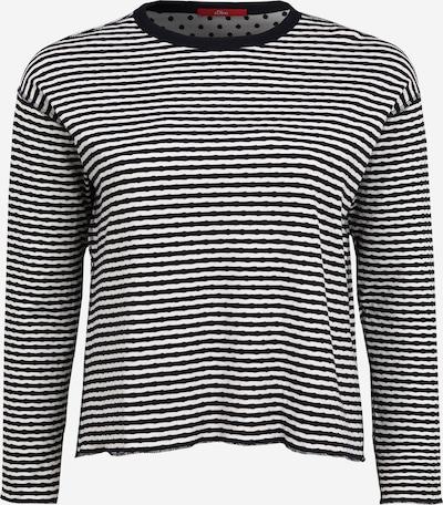 s.Oliver Shirt in de kleur Kaki / Wit, Productweergave