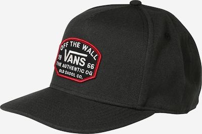 Șapcă VANS pe roșu / negru / alb, Vizualizare produs
