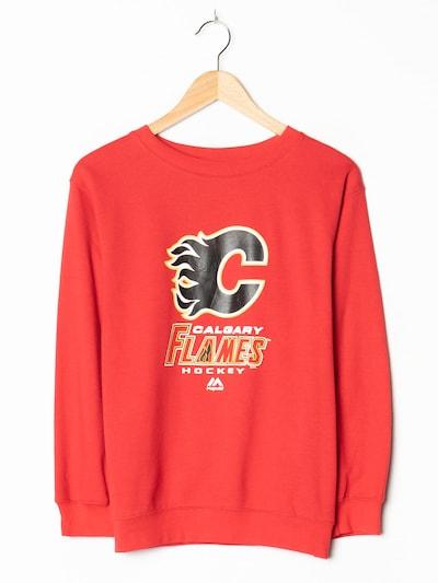 Majestic Sweatshirt in M-L in feuerrot, Produktansicht
