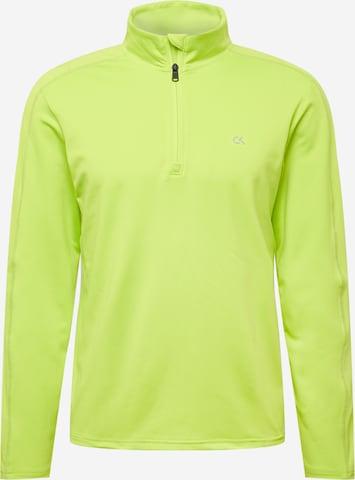 Calvin Klein Performance Funksjonsskjorte i gul