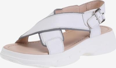 Ekonika Sandalen mit Riemchen in weiß, Produktansicht