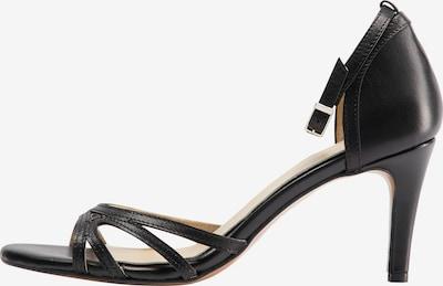 DreiMaster Klassik Sandale in schwarz, Produktansicht