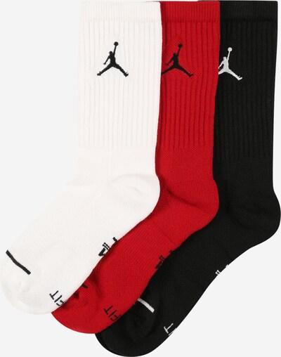 Jordan Čarape u crvena / crna / bijela, Pregled proizvoda