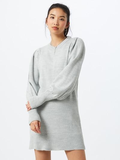 Rochie tricotat Miss Selfridge pe gri, Vizualizare model