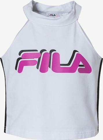 FILA Top FIBI CROPPED für Mädchen in Weiß
