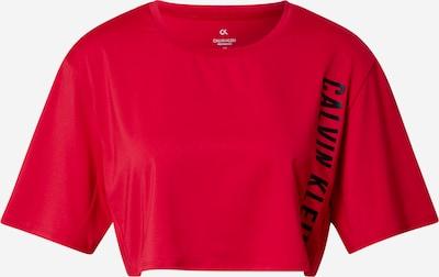 Calvin Klein Performance Функционална тениска в червено / черно, Преглед на продукта