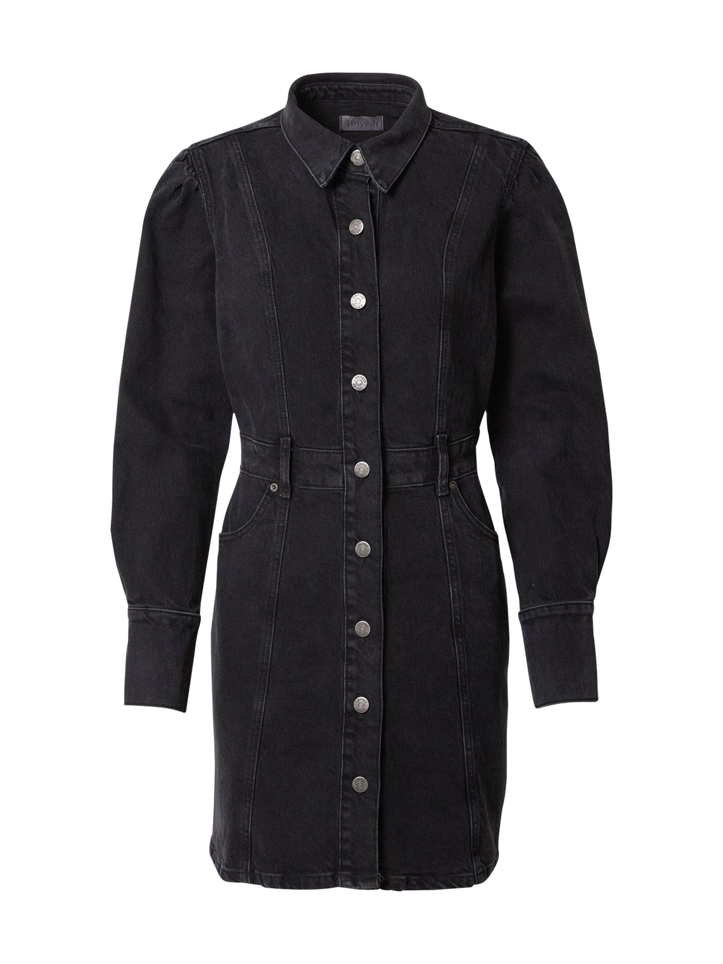 Boyish Kleid 'Emmett' in schwarz