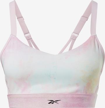 Reebok Sport Sport-BH 'Lux Strappy' in Pink