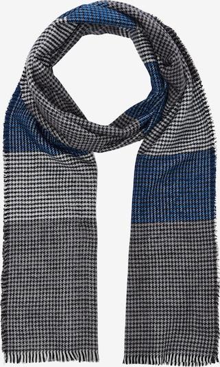 s.Oliver Schal in blau / grau / schwarz, Produktansicht