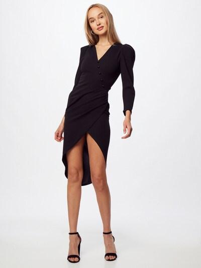 Rochie de cocktail 'KURT' TFNC pe negru, Vizualizare model