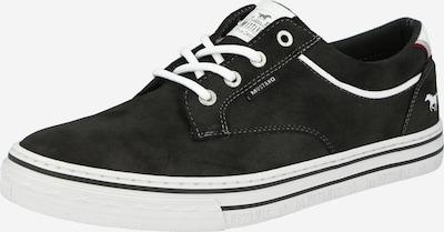 MUSTANG Sneaker in anthrazit / weiß, Produktansicht
